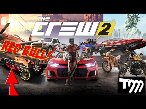 THE CREW 2 - New & Exclusive Gameplay, Races, Vehicles, Red Bull F1 & More!!