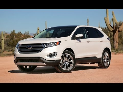 2015 ford edge review first drive youtube. Black Bedroom Furniture Sets. Home Design Ideas