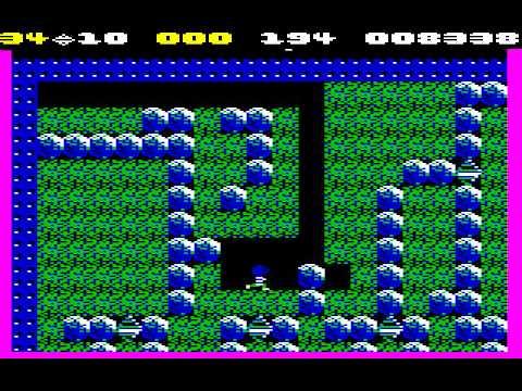 C64 Longplay - Boulder Dash Monday (remaining Caves)