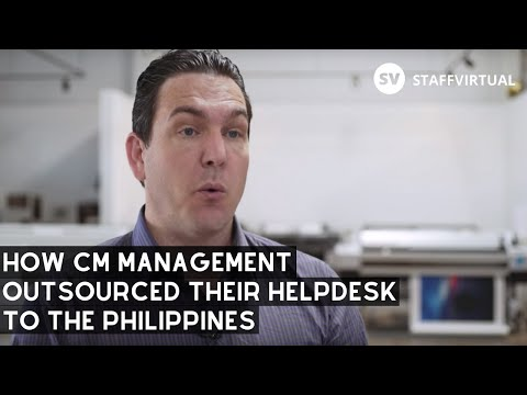 CM Management Outsources their Helpdesk with STAFFVIRTUAL to Scale Quickly.