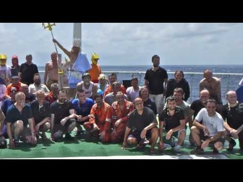 Seabed Prince Line-Crossing Ceremony (Crossing the Equator)