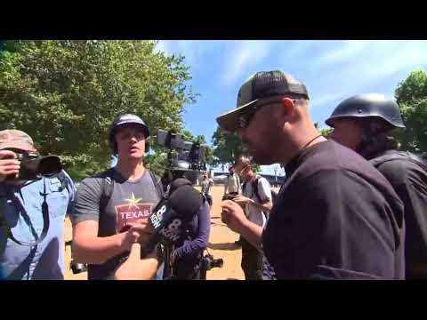 KGW interview with Joey Gibson, Patriot Prayer founder