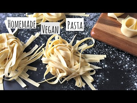 Homemade Pasta Dough // Vegan // Breaking Chegan
