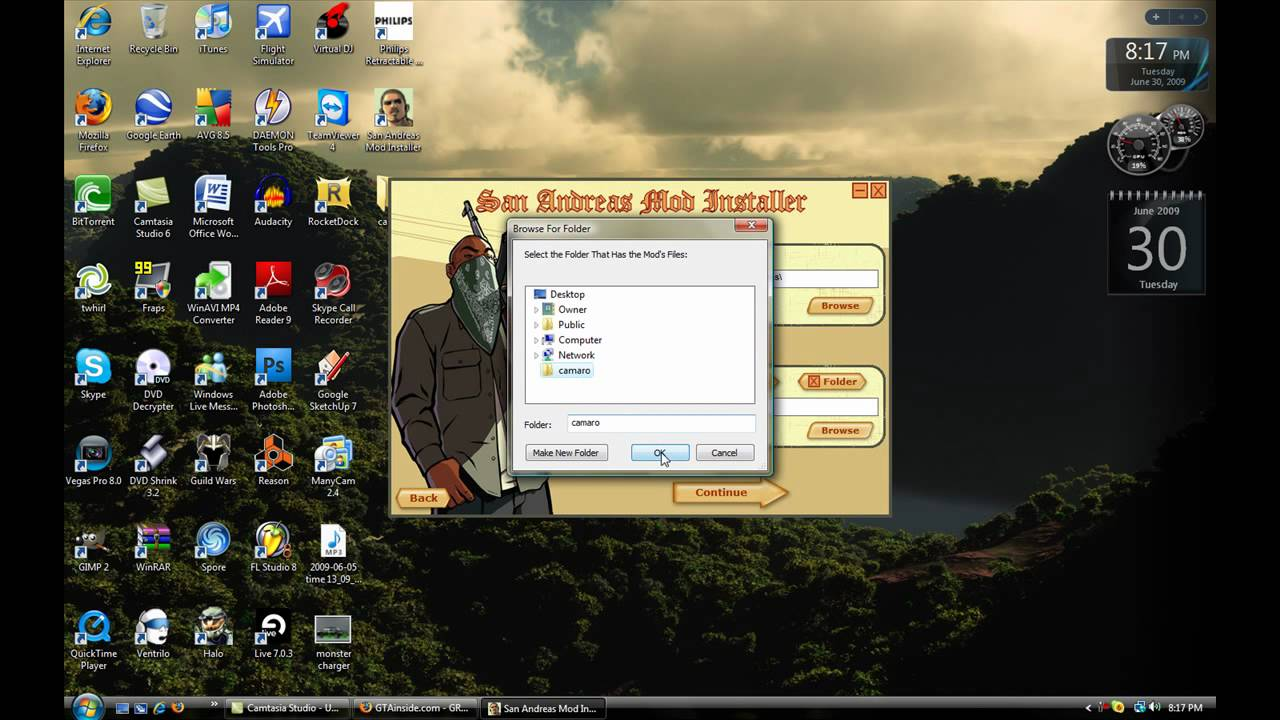 download gta sa mod installer pc