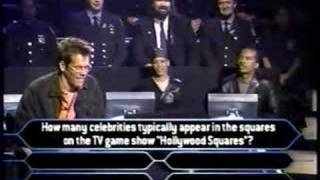 1/2 Kevin Bacon on celebrity millionaire
