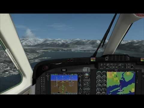SUPER KING AIR B200 FOR FSX LANDING