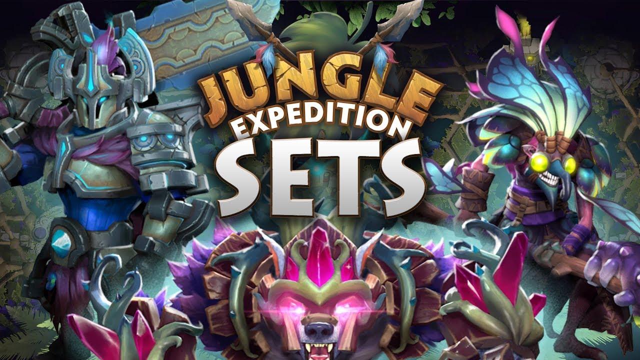 Dota 2 Jungle Expedition Sets - TI9 Battle Pass