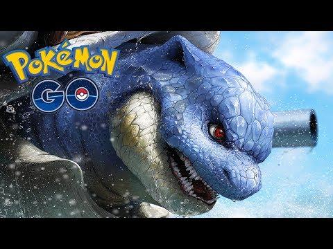 CANHÃO DE ÁGUA DEIXA BLASTOISE FORTE? - Pokémon Go thumbnail