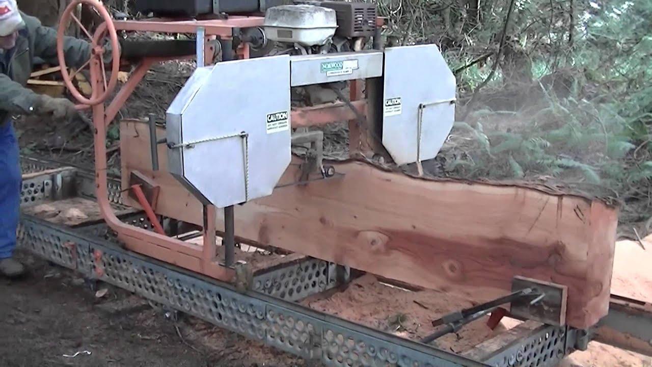 Norwood Lumberman Sawmill Model Mn26 0013g