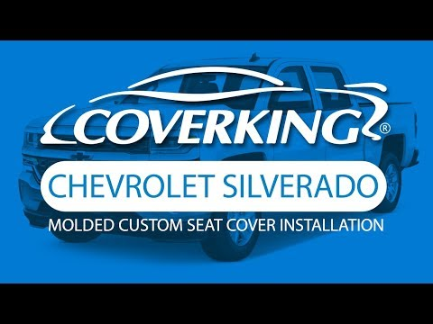 How To Install 2013-2018 Chevrolet Silverado Molded Custom Seat Covers| COVERKING®