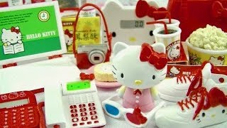 Re-ment Sanrio Hello Kitty Ol Life Complete Set Unboxing