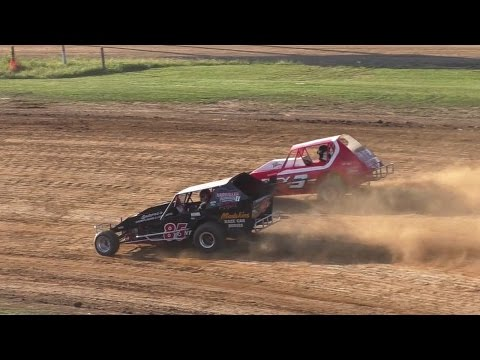 PA Vintage Modified Heat One   McKean County Raceway   Fall Classic   10-15-16