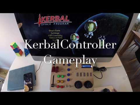 KerbalController Gameplay  