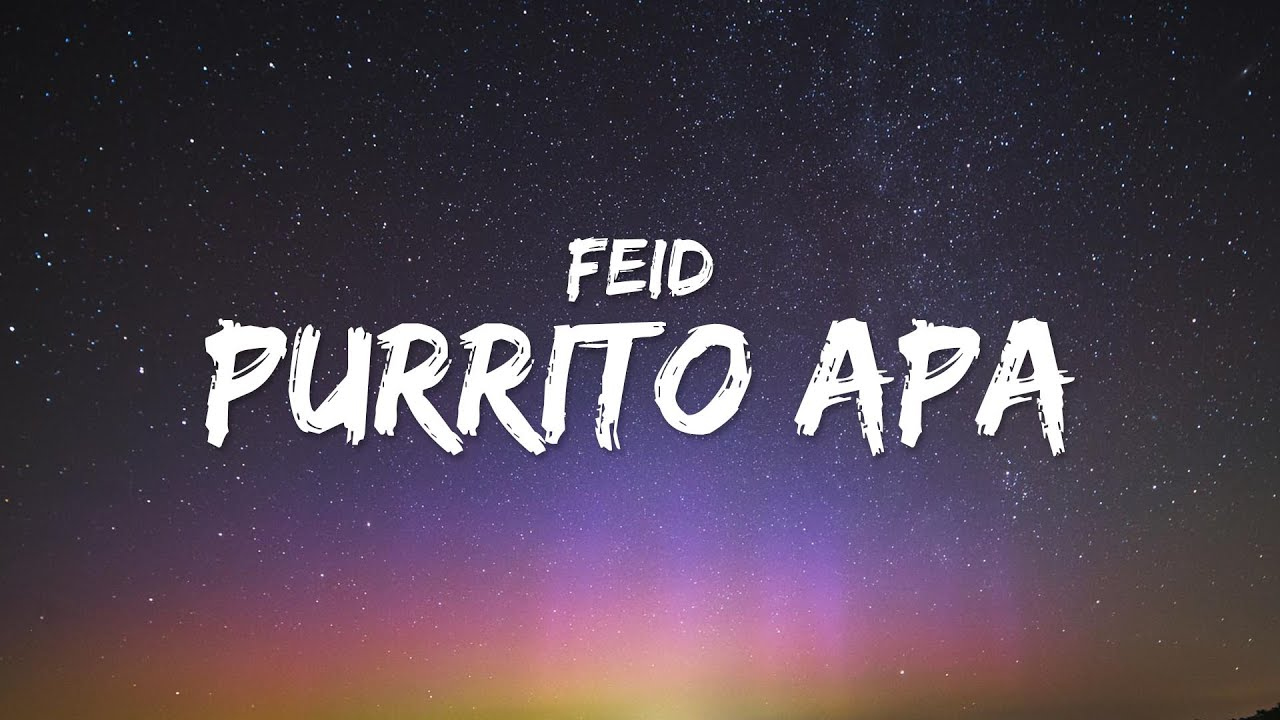 Feid, ICON - PURRITO APA (Letra / Lyrics)