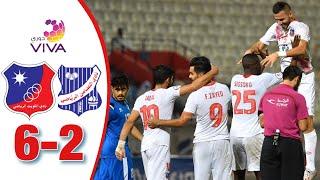 أهداف مباراة الكويت والتضامن 6-2 | دوري فيفا