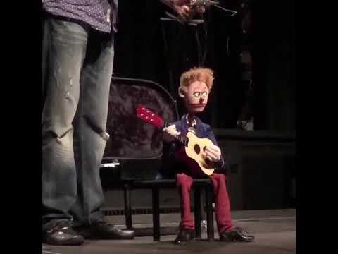 Funny Puppet Guitarist