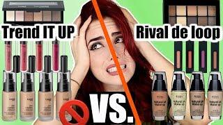 FAIL🚫 TREND IT UP VS. RIVAL DE LOOP I dm vs Rossmann Drogerie Vergleich Dupes I Luisacrashion