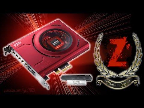 Z  - ЗНАЧИТ ЗВУК (Z for ZOUND) Sound Blaster Z