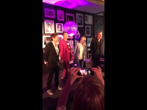 Duran Duran's first visit to Warner Brothers Records