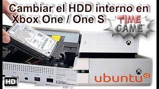 Como poder cambiar el HDD interno de Xbox One