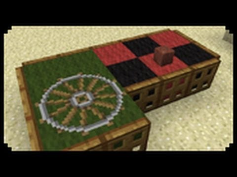 Minecraft how to make a roulette table youtube - Table d alchimie minecraft ...