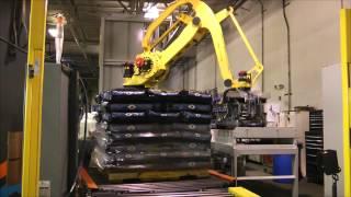 Phoenix PCTA-2100 Robotic palletizer Integration