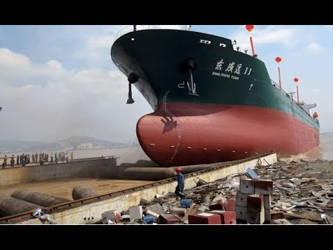AMAZING SHIP LAUNCHES COMPILATION 2018HD|WORLD BIGGEST BOAT LAUNCHES #2