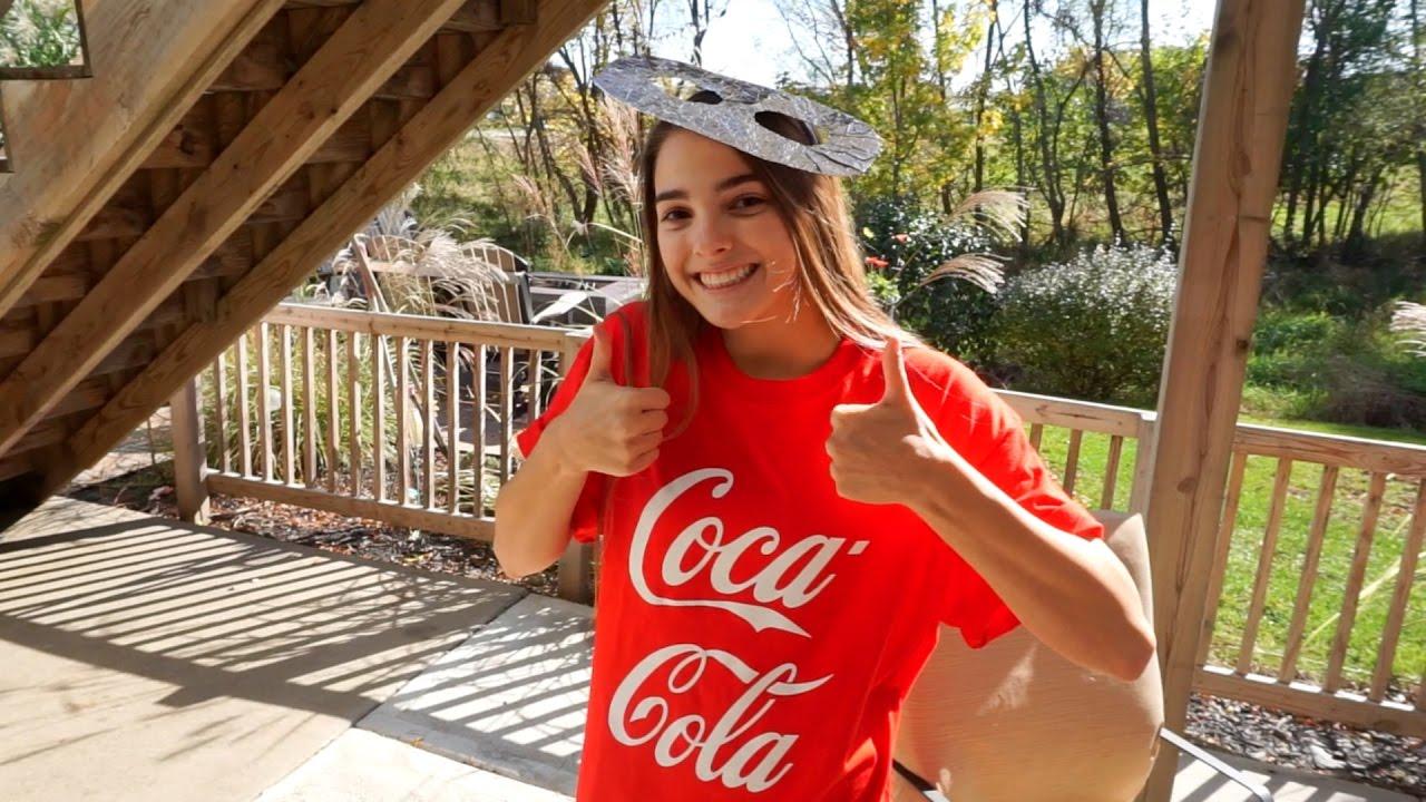 diy coca cola costume youtube