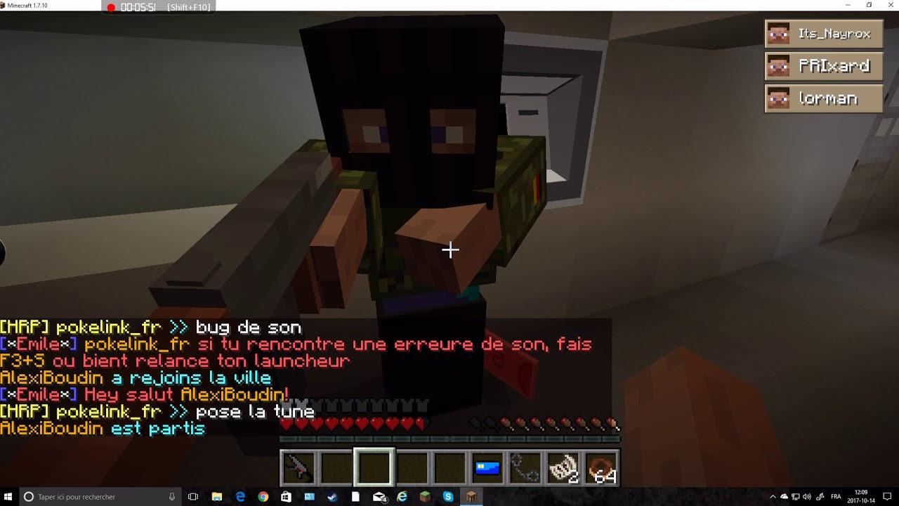 Rencontres serveurs Minecraft 1,10