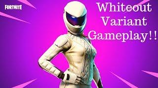Whiteout Skin Fortnite Gameplay ❤