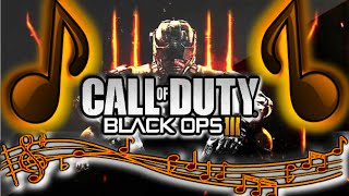 "Call of Duty Black Ops 3 OFFICIAL MUSIC/THEME SONG FOR REVEAL TRAILER ""Paint it Black"" BO3 Gameplay"