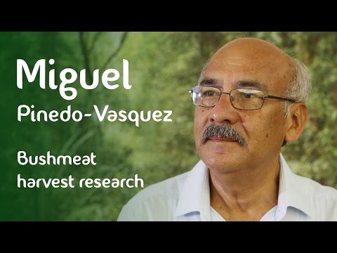 Miguel Pinedo-Vasquez on bushmeat harvest research