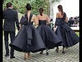 Refined Black Wedding Dresses To Stand Out