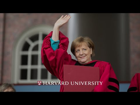 German Chancellor Angela Merkel's address | Harvard Commencement 2019