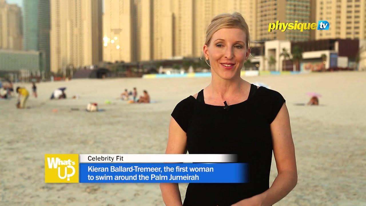 Celebrity Fit Kieran BallardTremeer the first woman to