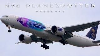 "NYC Planespotter Presents:  ""Spotting JFK Runway 31 R Arrivals""  ✈ (4K)"