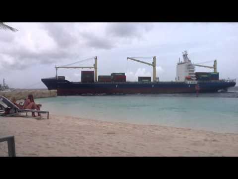 Container ship Curacao