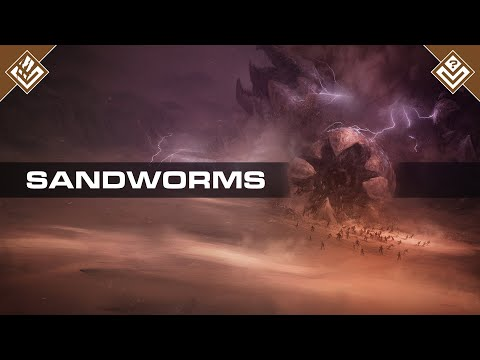 Arrakis Sandworms | Dune | Bestiary Pilot