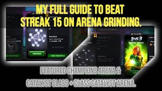 my full guide to beat streak 15 on arena grinding  marvel contest of champions