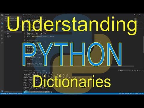 Understanding Python: Dictionaries