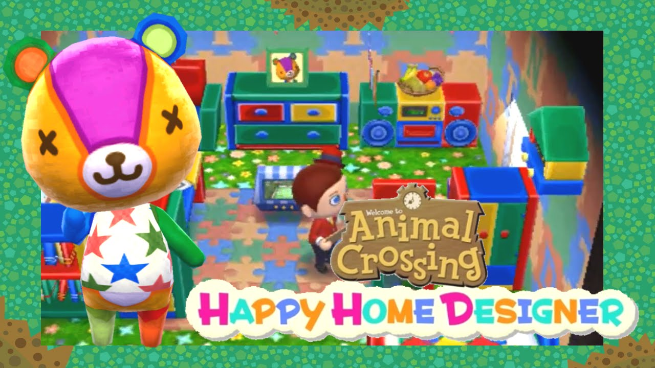 Animal Crossing Happy Home Designer Day 10 A colorful toy ...