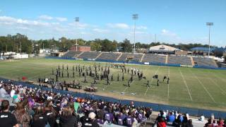 Zachary High Band Performs at 2011 Sulphur High School Marching Festival 11/5/2011