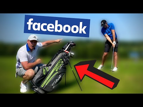 THIS 9 HANDICAPPERS GOLF BAG IS FULL OF FACEBOOK DEALS!!!
