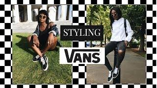 HOW I STYLE | VANS SK8-HI - YouTube