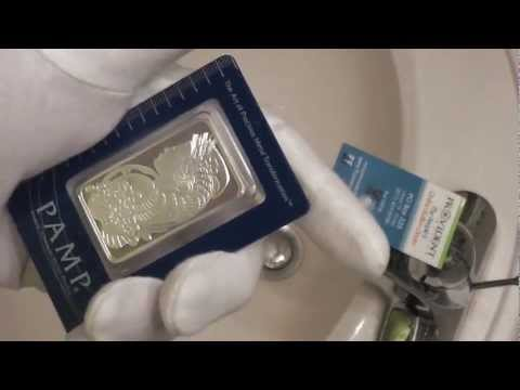 PAMP Suisse 1 oz Fortuna Silver Bar .999 Fine Review