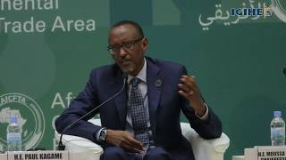 We have only ourselves to blame– President Kagame on global trade in Africa