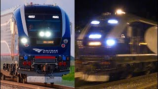 NEW SC-44 Charger Amtrak Pacific Surfliner Test Trains