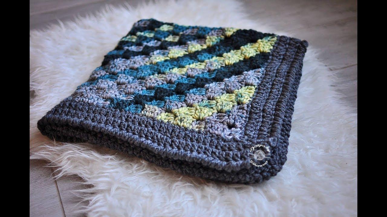 Crochet Chunky C2c Blanket Tutorial Youtube