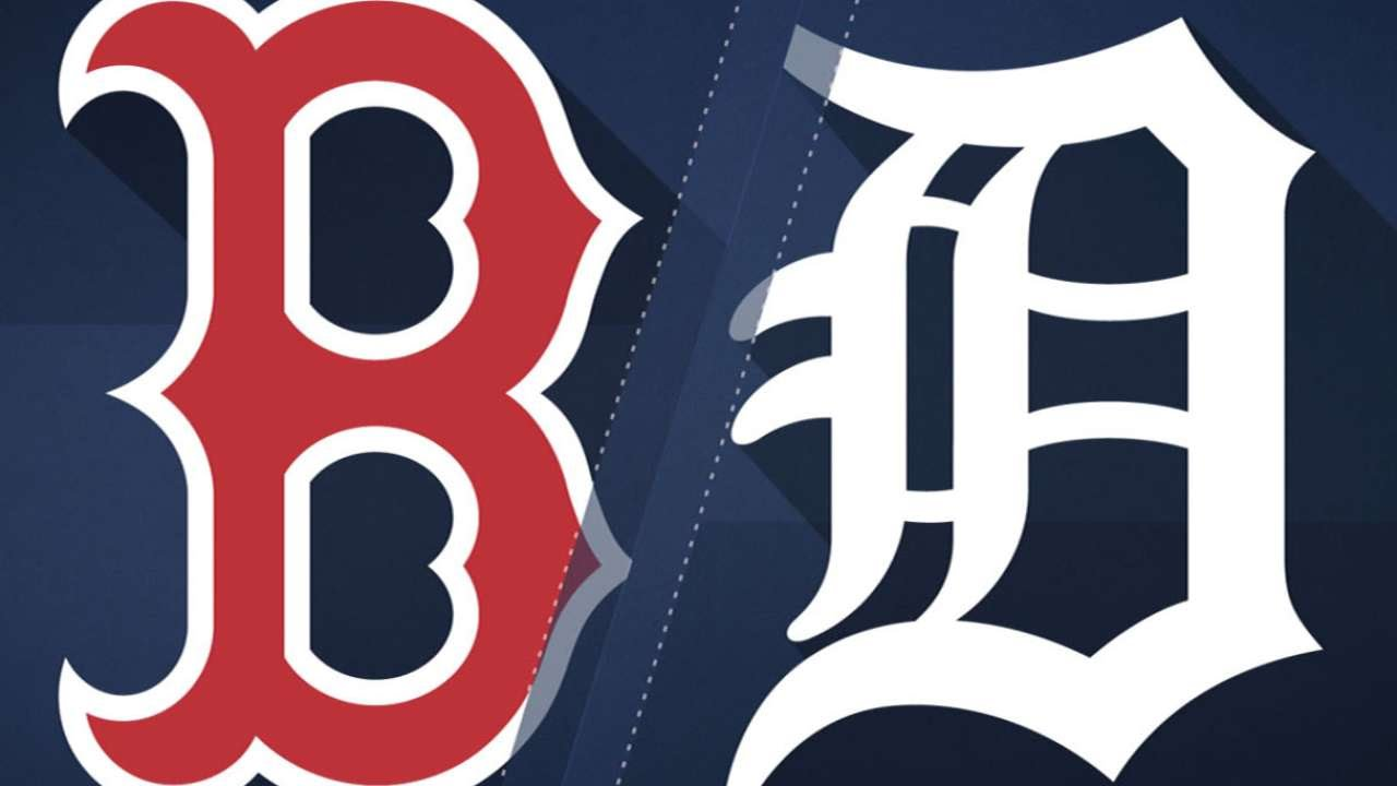 Leons Two Run Hit Lifts Red Sox Over Tigers