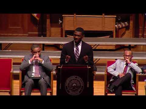 Otis Moss, Jr. Oratorical Contest - February 8, 2018
